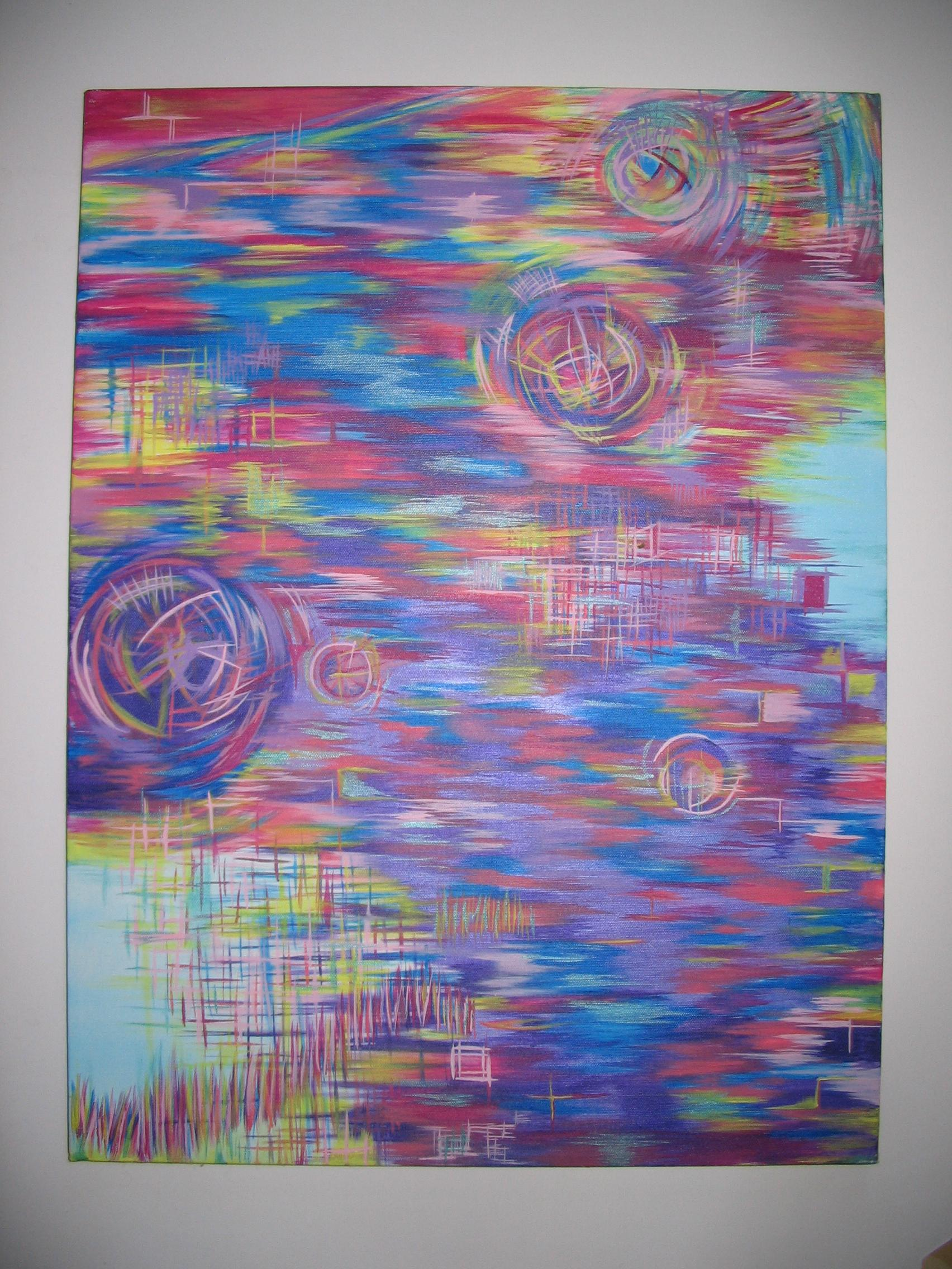 Abstract Painting: Time in Space