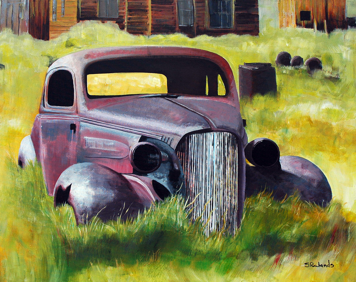 1937 Chevy Rusty Old Car