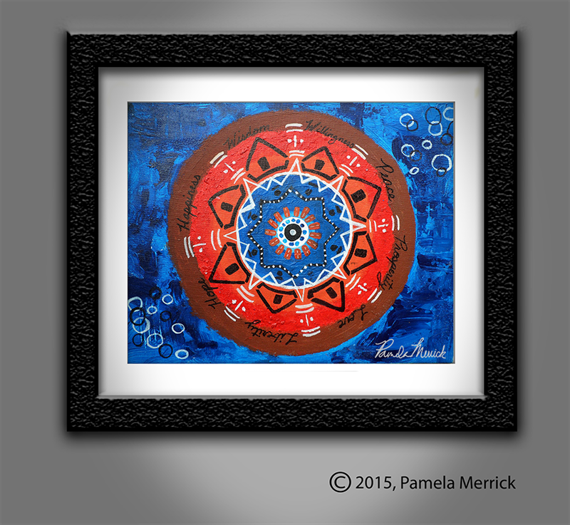 """Bless"" Original Painting by Pamela Merrick"
