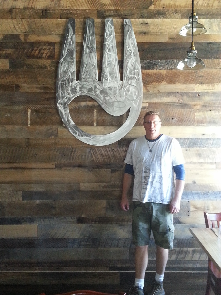 Stainless Wall Sculpture