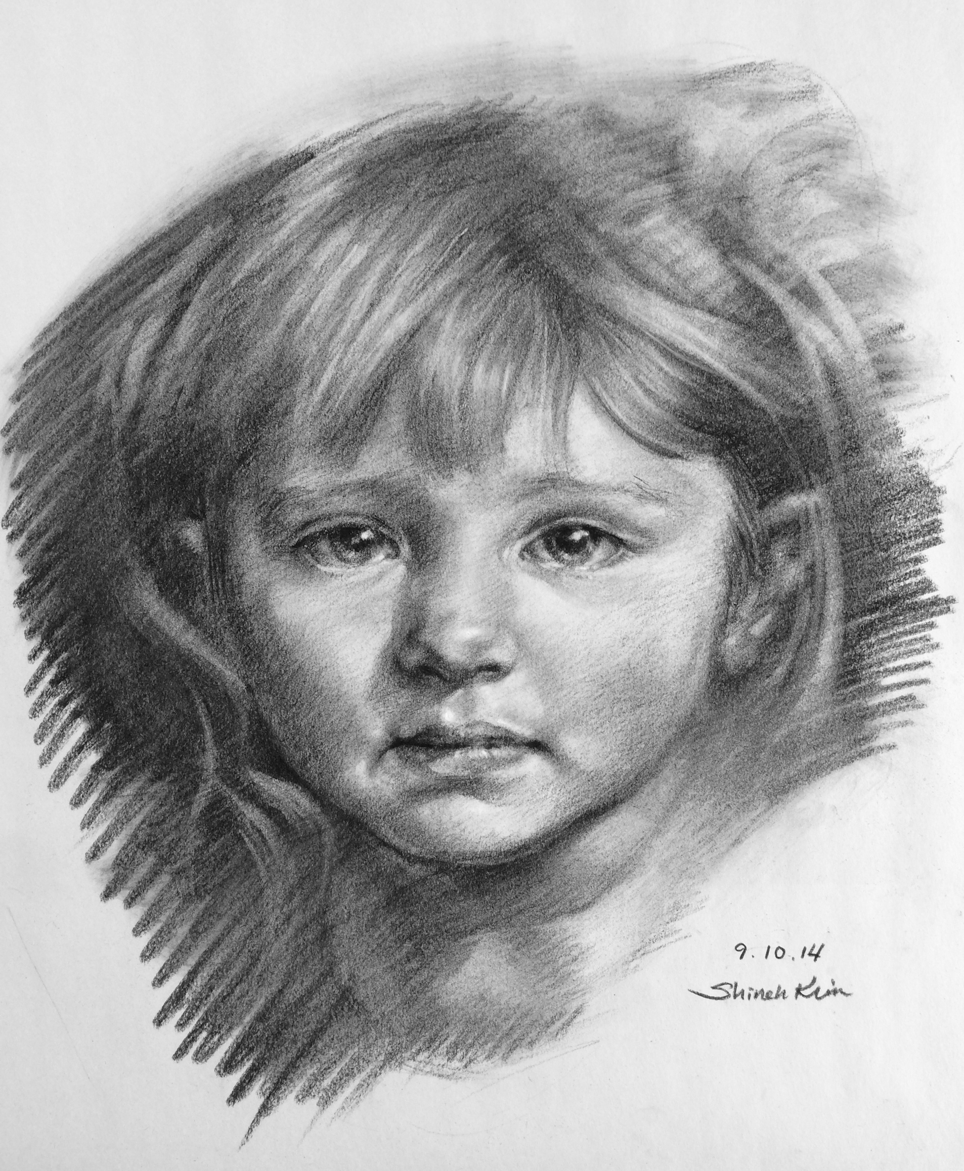 A Portrait of a Girl
