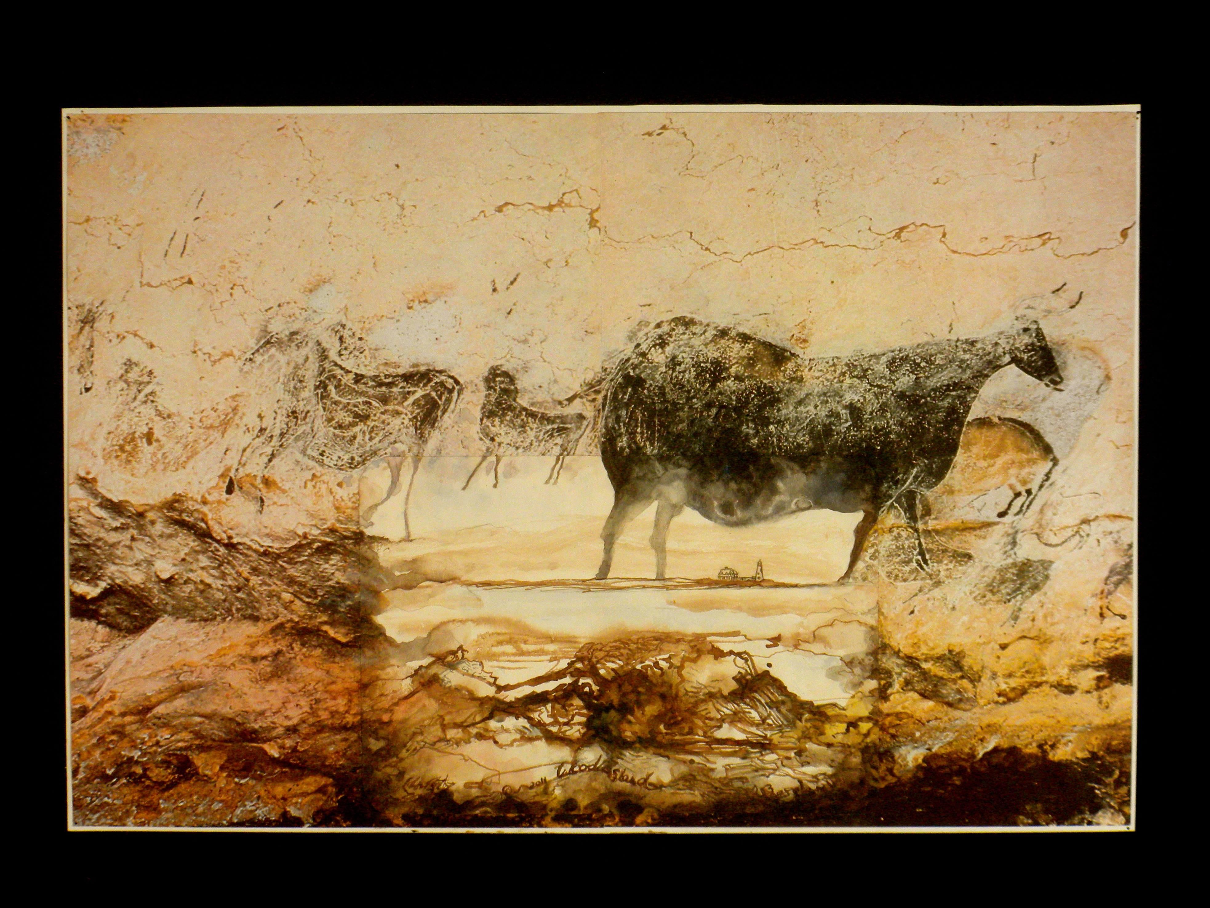 Cave Painting and Contemporary Drawing