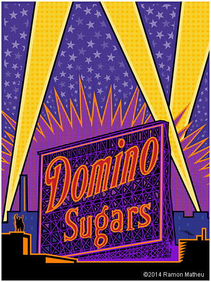 Domino Sugar plant in Baltimore Maryland