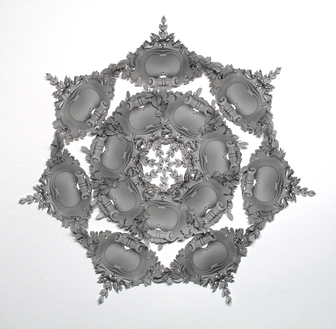 Hand-Cut-and-Assembled 3-D Gelatin Silver Photo Collage