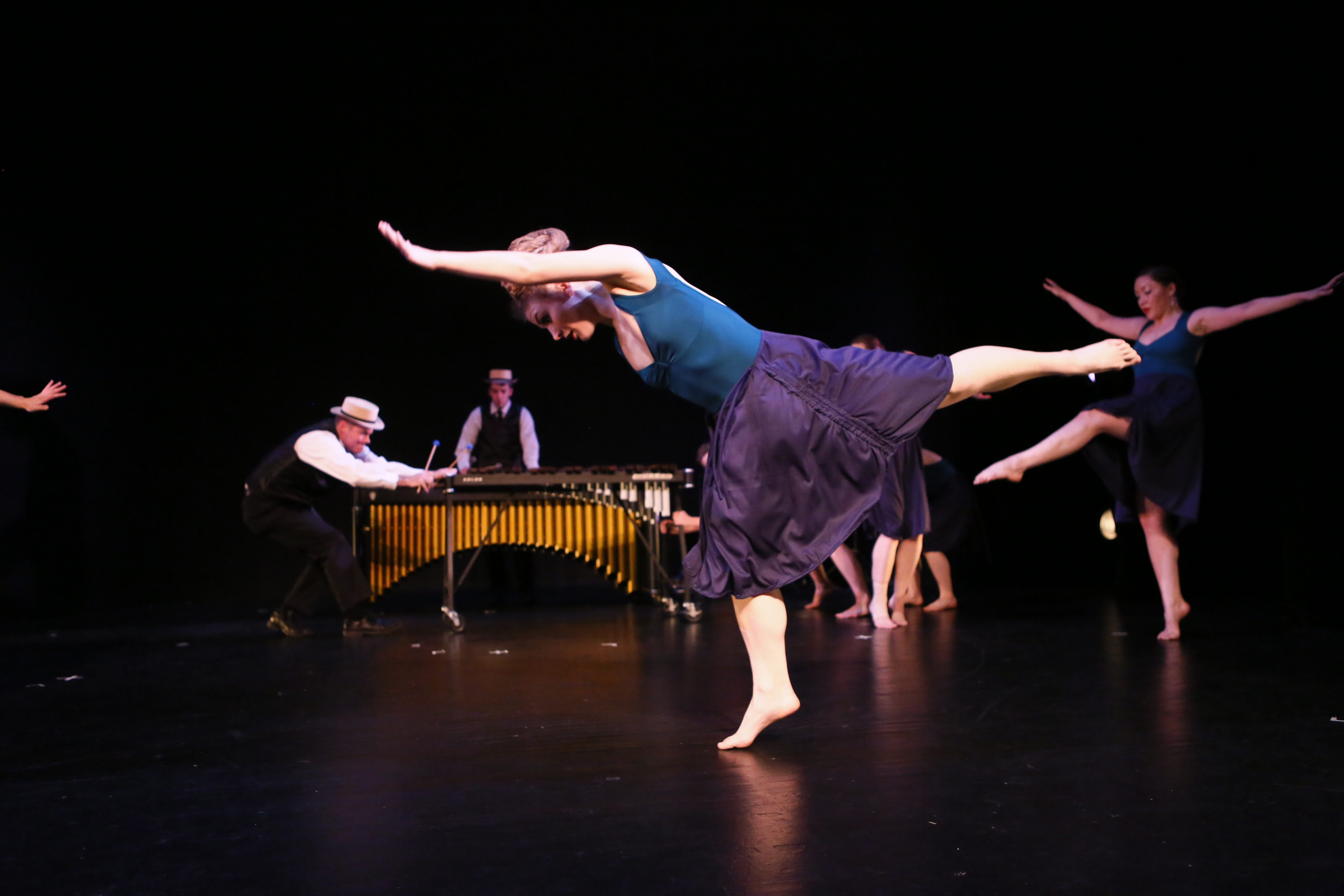 """""""The Traveling Feet"""" - featuring the choreography of Artistic Director Nicole A. Martinell.  Photo by City Digital Photography"""