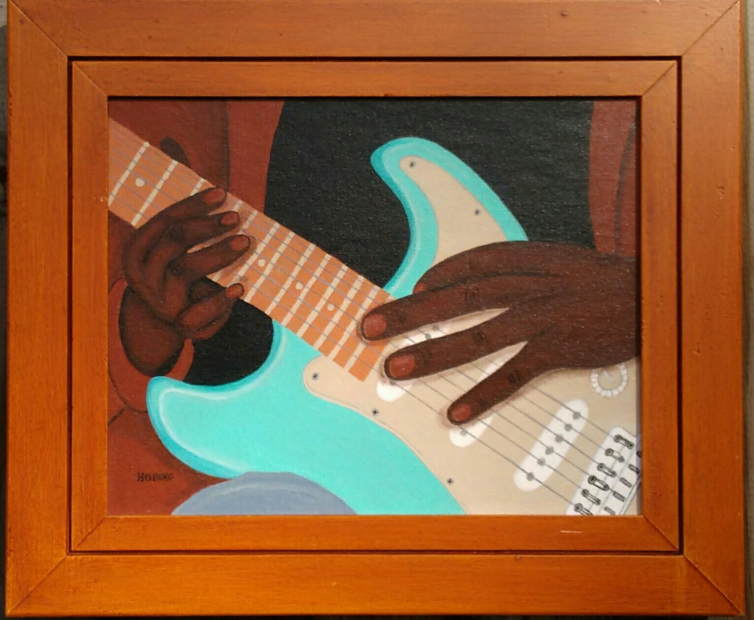 Blues for the Left Hand c Kristin Helberg 2015