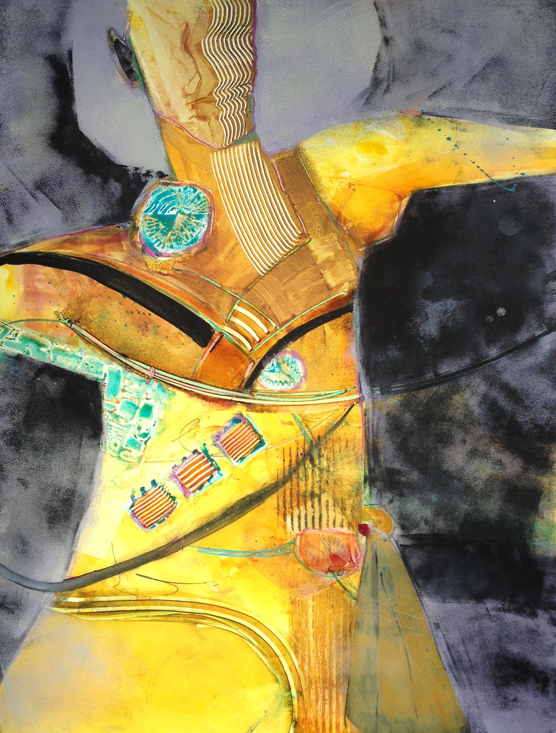 Abstracted Figurative