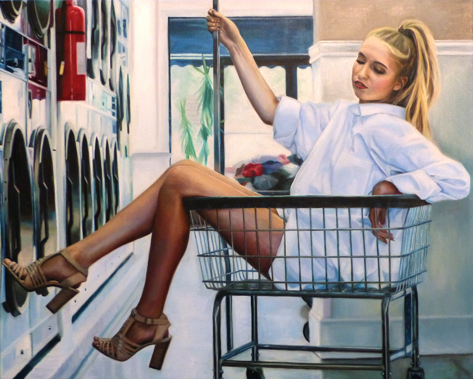 Laundry Day - Megan Burak