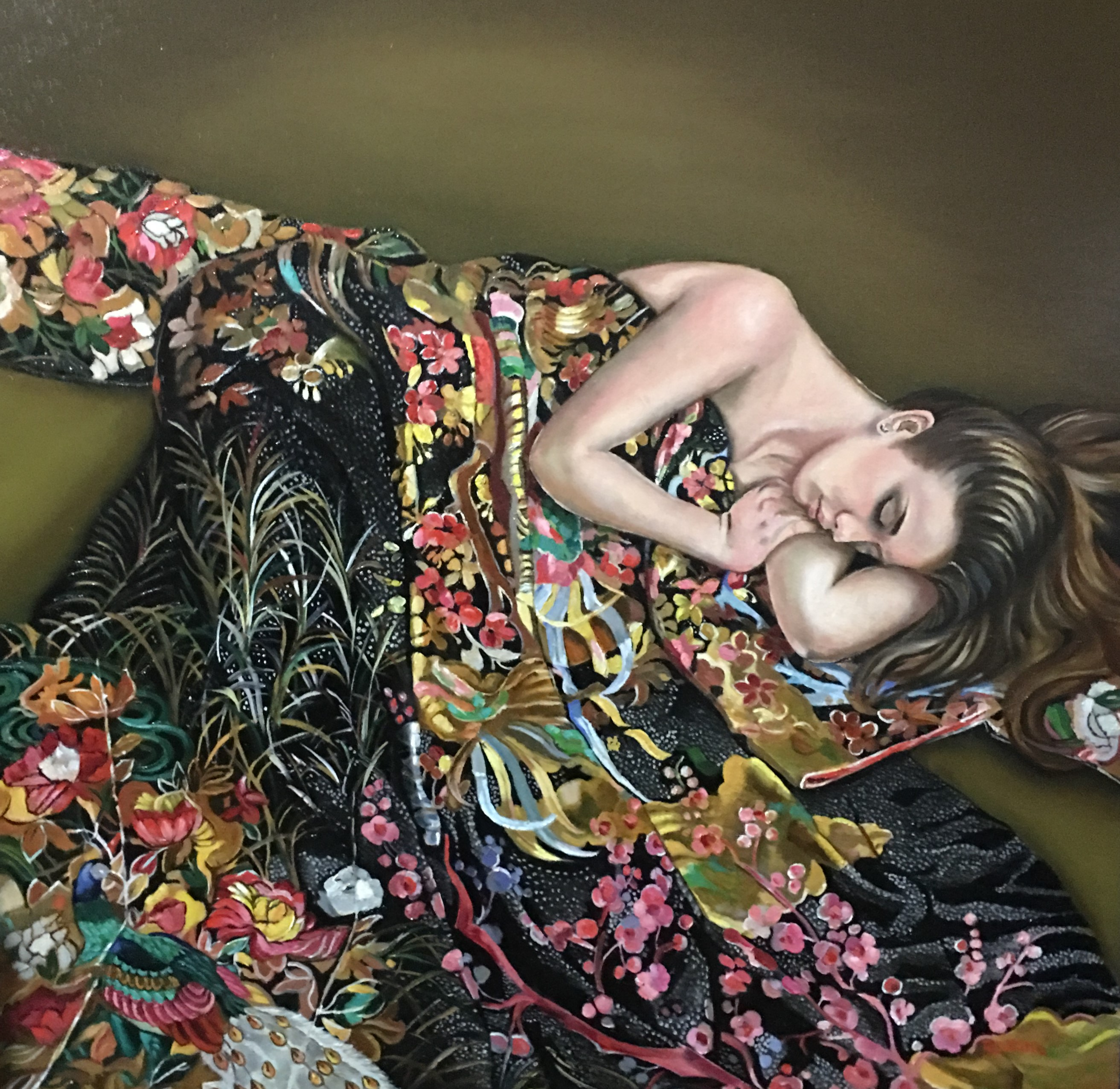 I admire Evan Wilson, he is a Master at painting, I am impressed by his ability to paint and his details.