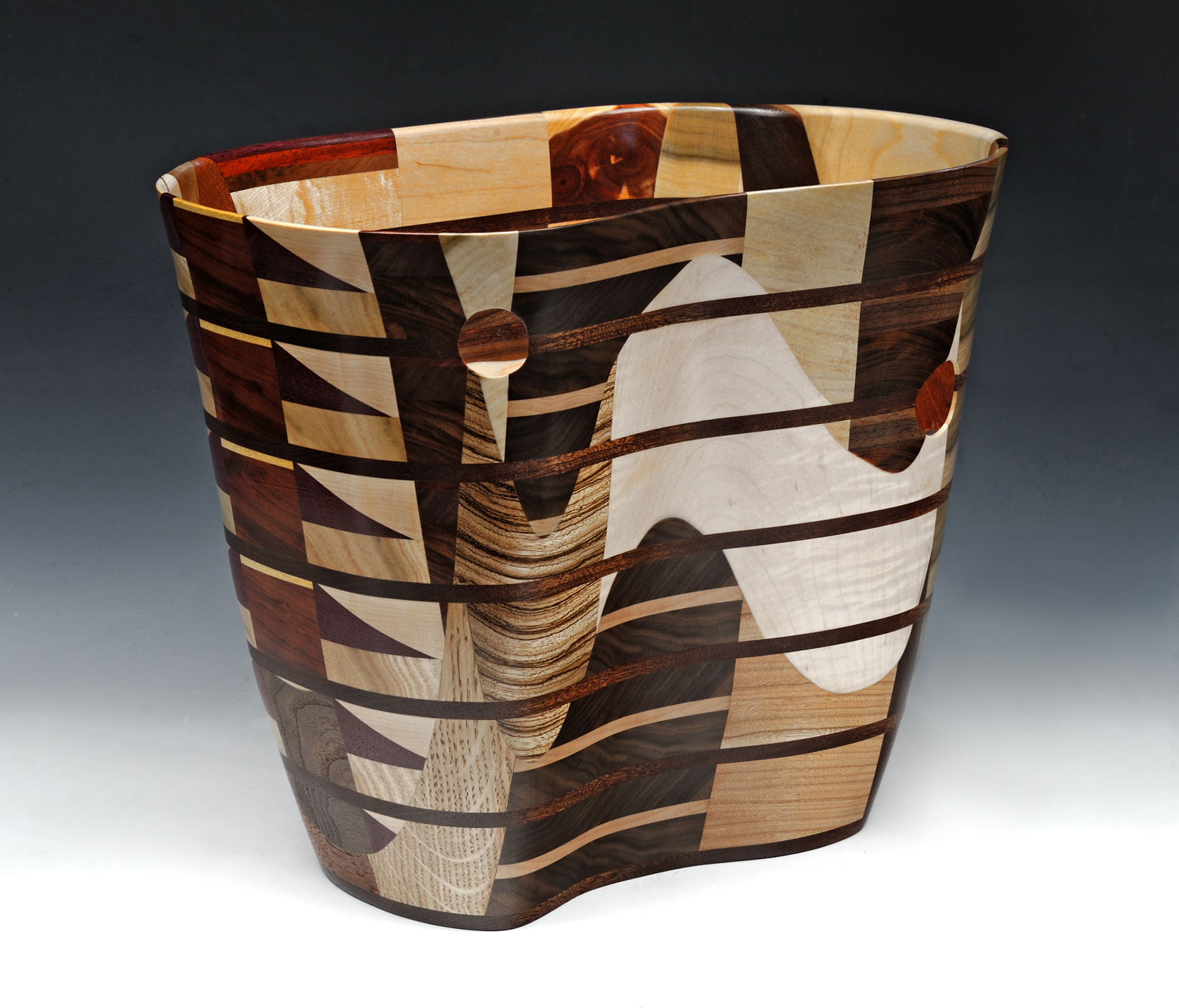 Mixed Woods Vessel No. 2