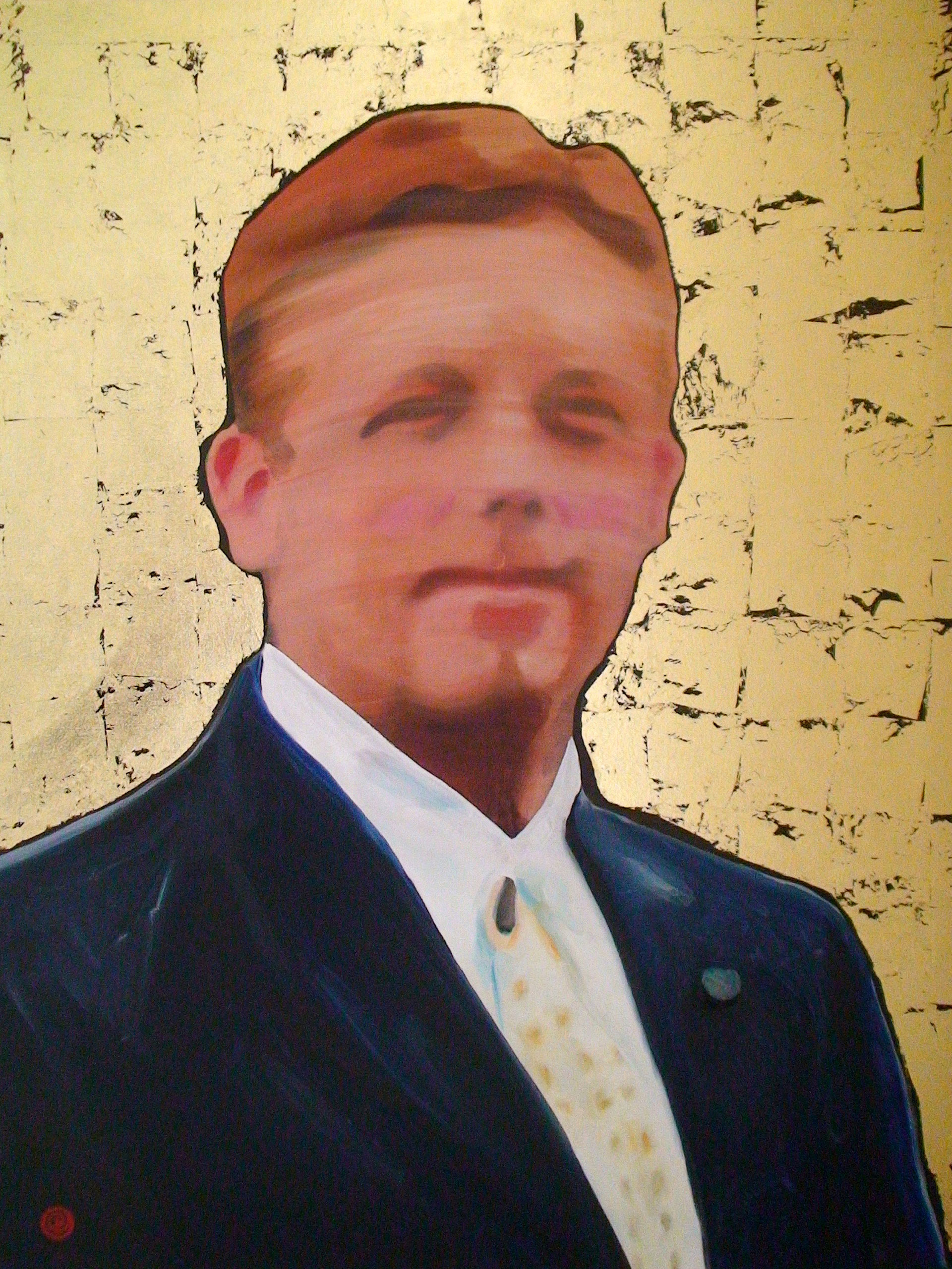 Portrait painting of Mr. Anthony Day