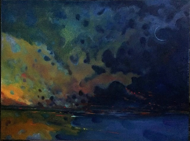 Sailors' Delight   Sandedd oil on linen