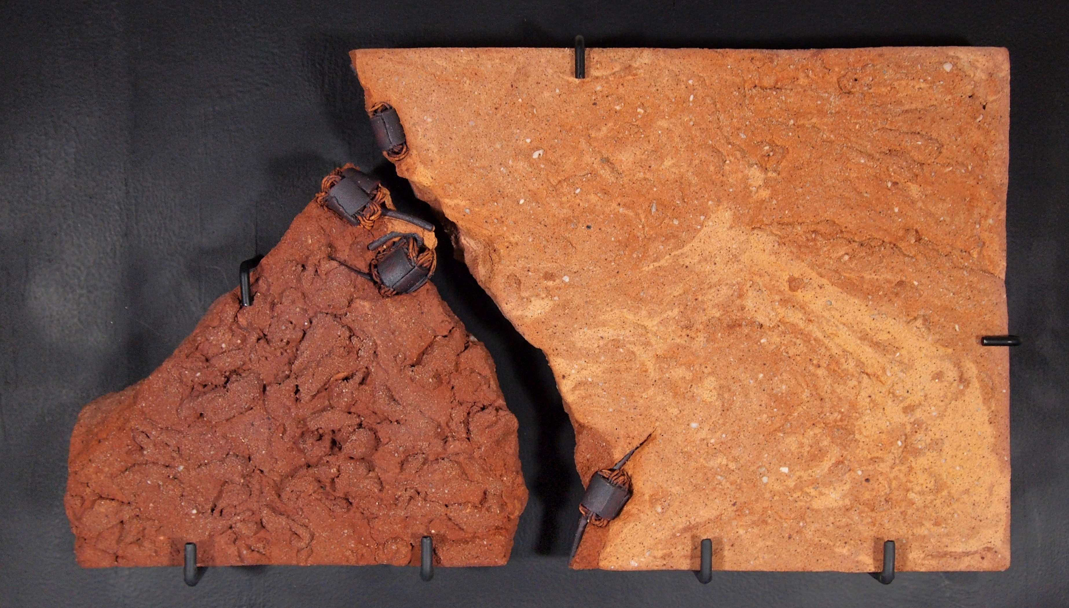 Sandstone Plate with Rotors