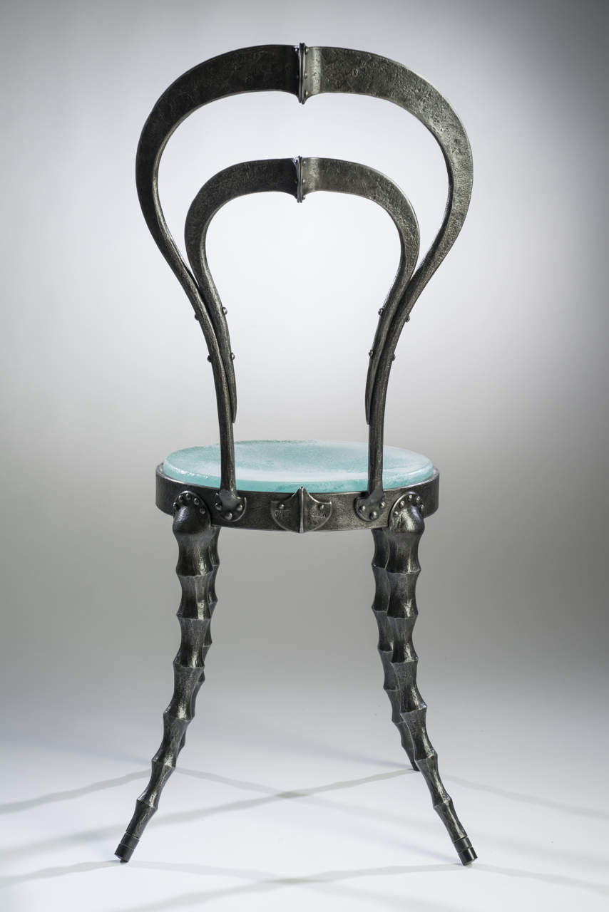 functional art, furniture, metal, glass