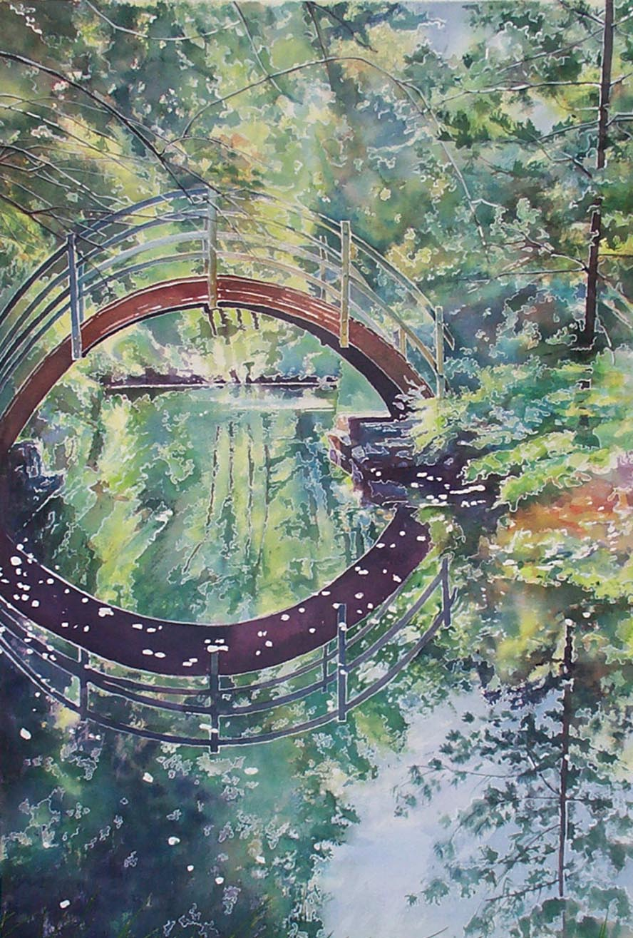 Bridge- Study for a Tapestry