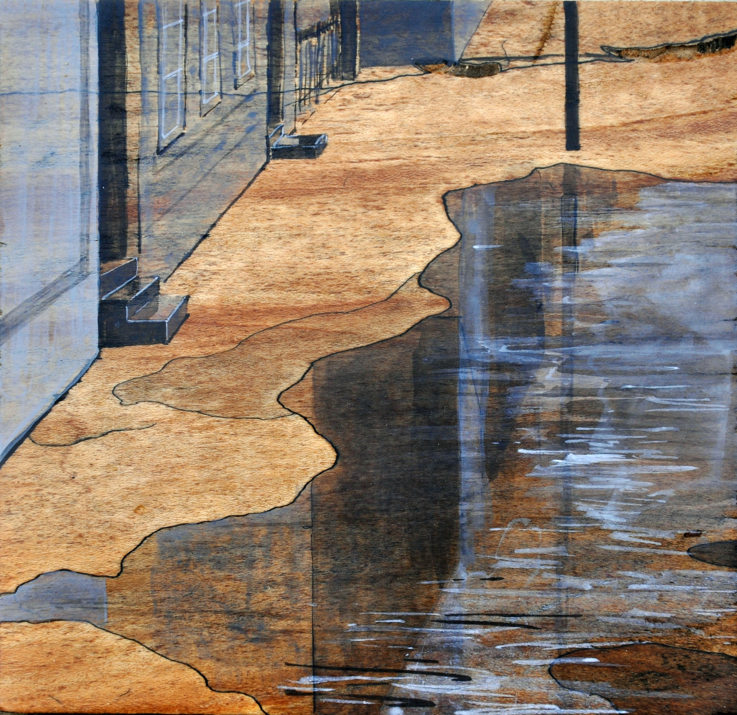 """""""Water in the Street"""" by Leah Lewman"""