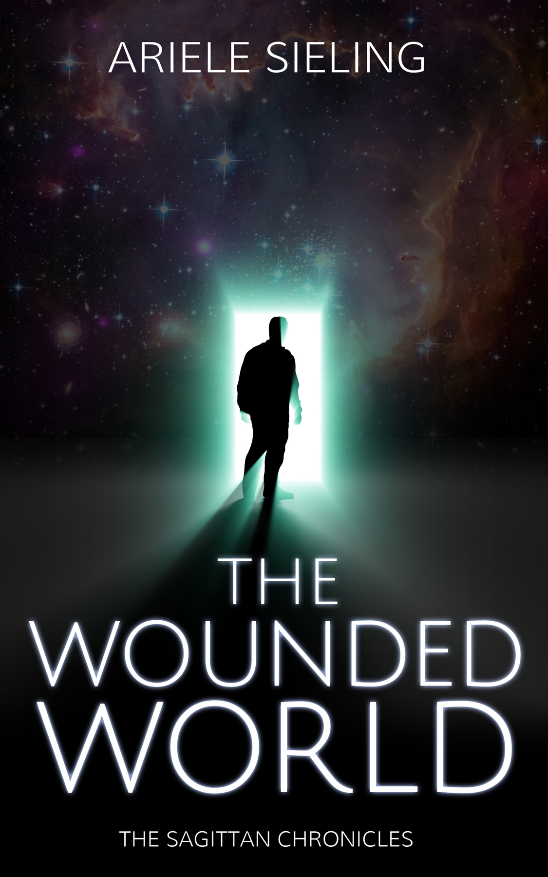 The book cover for The Wounded World, by Ariele Sieling