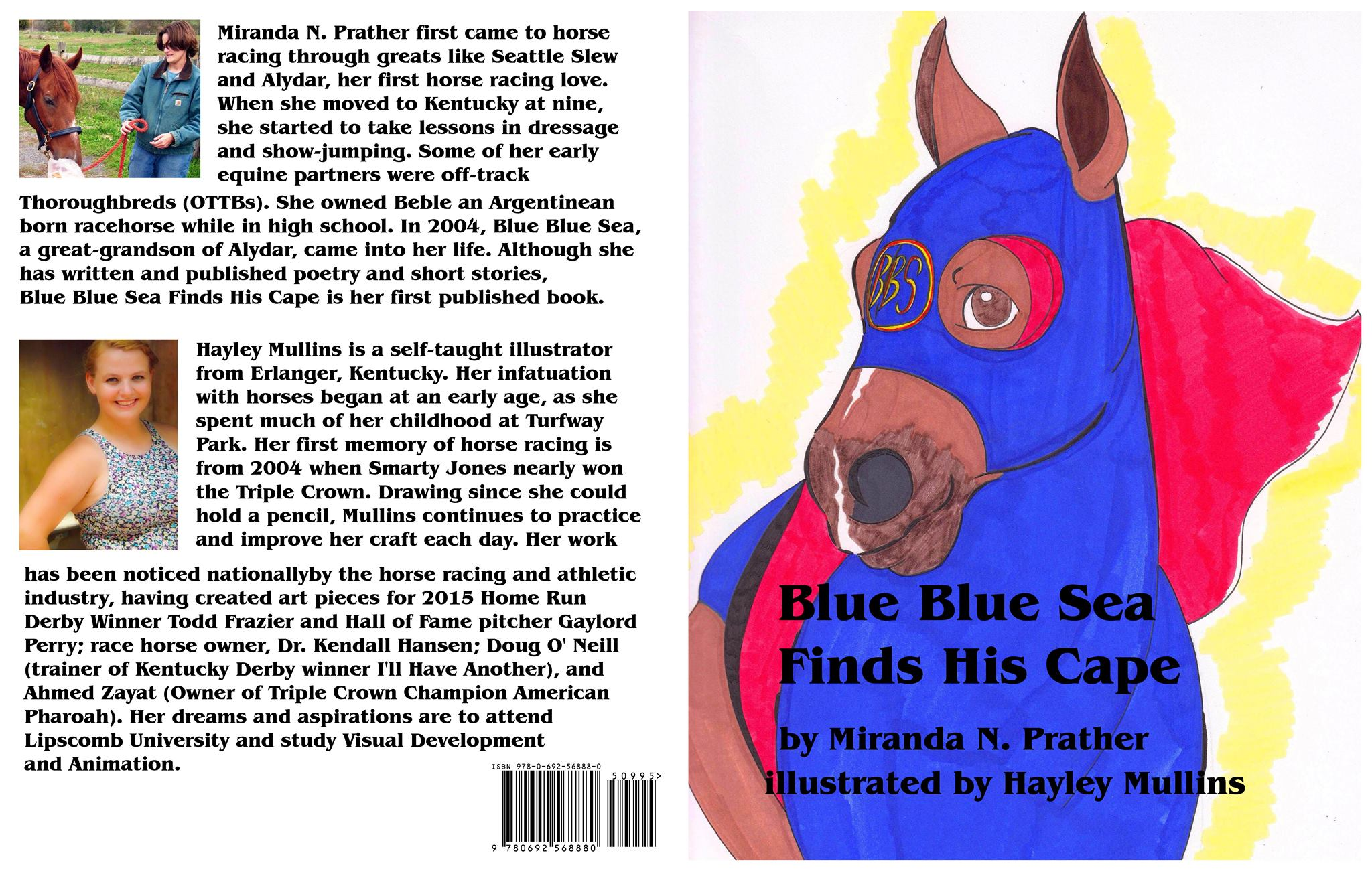 Blue Blue Sea Finds His Cape Cover Art