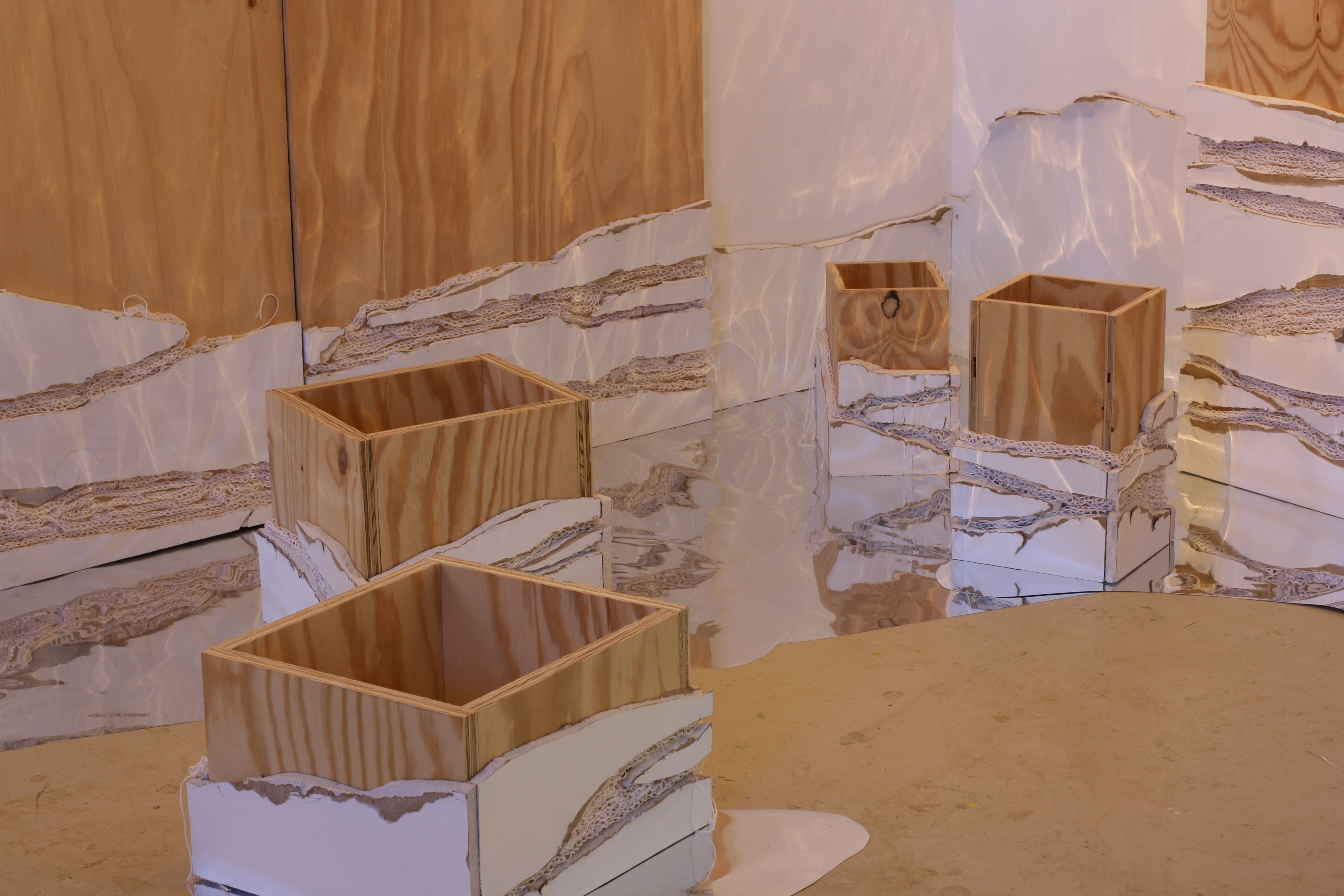 drywall boxes
