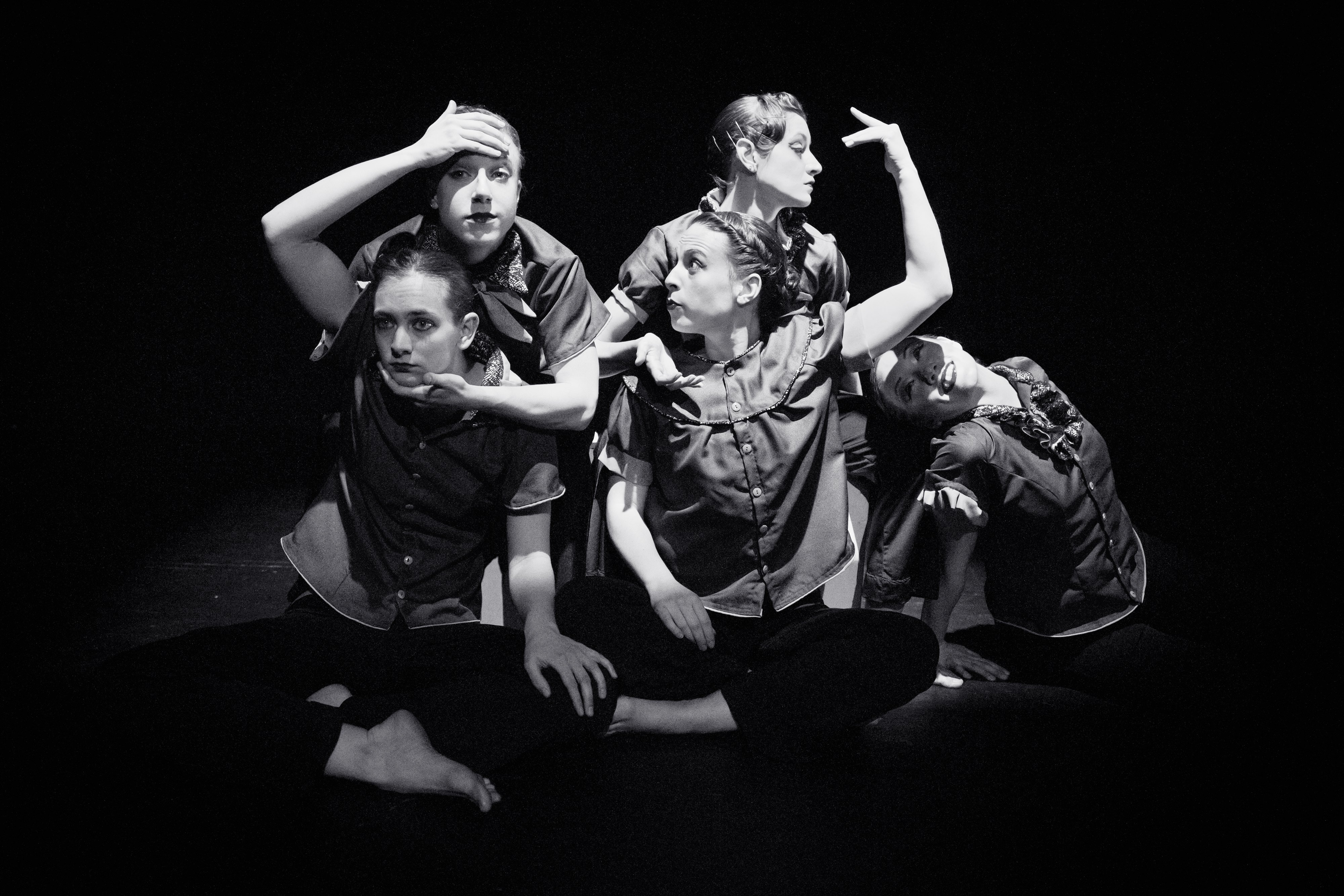 """""""heady collectables"""" by Artistic Director Nicole A. Martinell.  Photo by Maxime Seigler."""