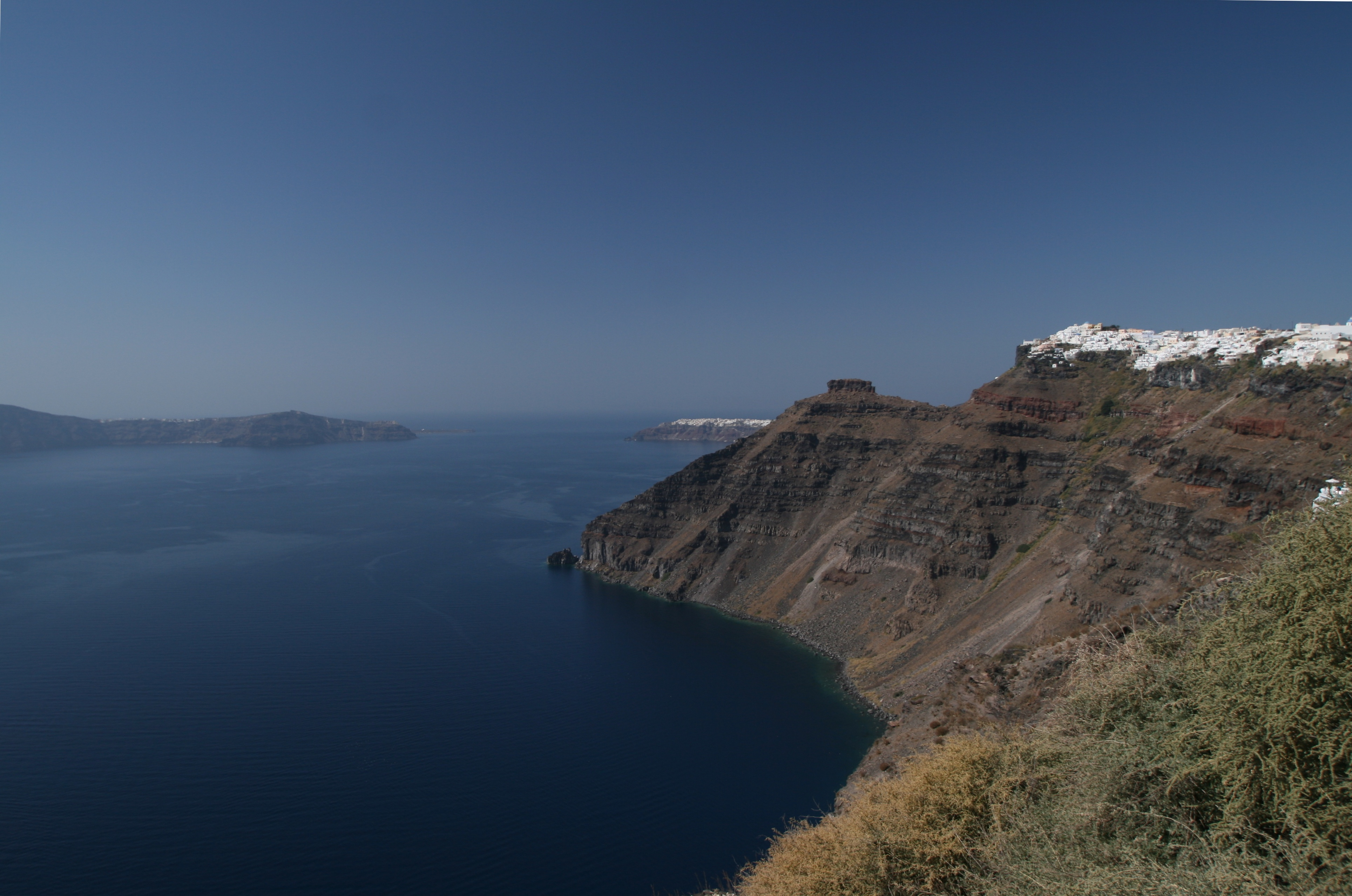 Santorini and the Mediterranean