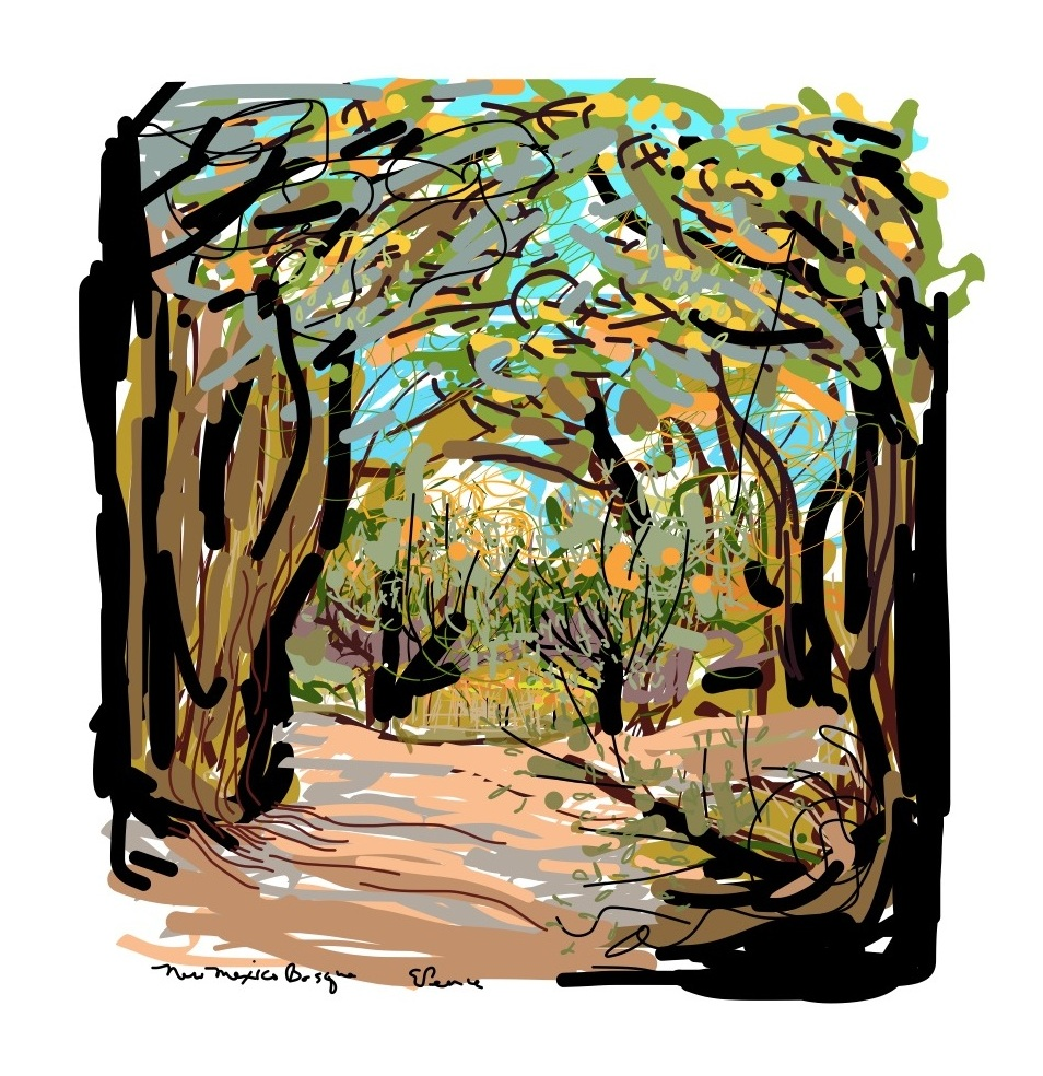 New Mexico Bosque Art